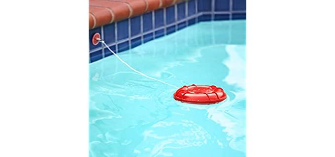 pool alarm on water